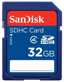 SanDisk 32GB SDHC Class 4