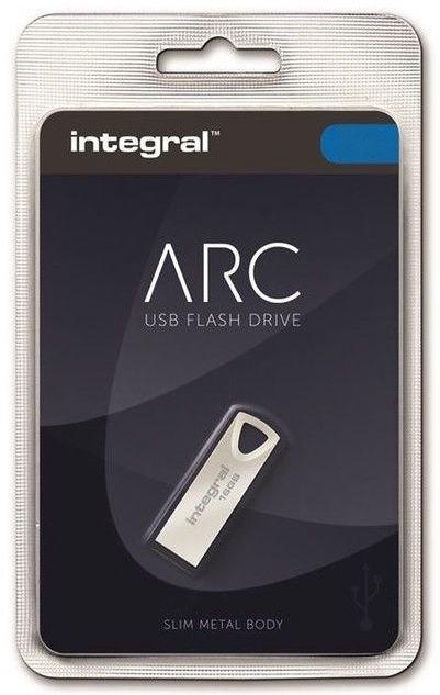 USB-накопитель Integral Metal Arc, 32 GB