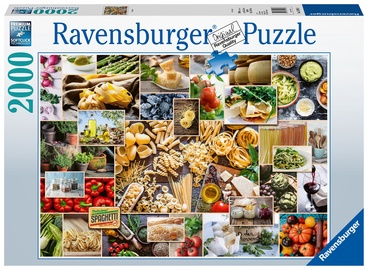 Ravensburger Puzzle Food Collage 2000pcs 150168