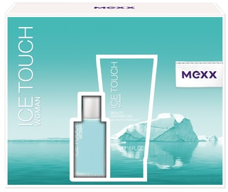 Mexx Ice Touch Woman 15ml EDT + 50ml Shower Gel