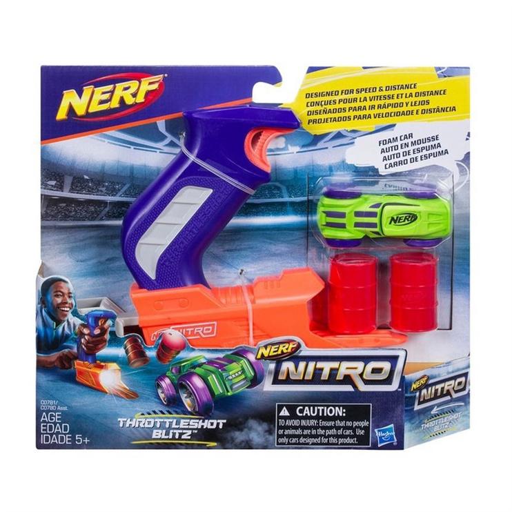 Žaislinis šautuvas Nerf Nitro Throttleshot, nuo 5 m.