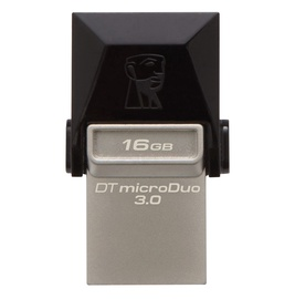 USB atmintinė Kingston MicroDuo DTDUO3, USB 3.0, 16 GB