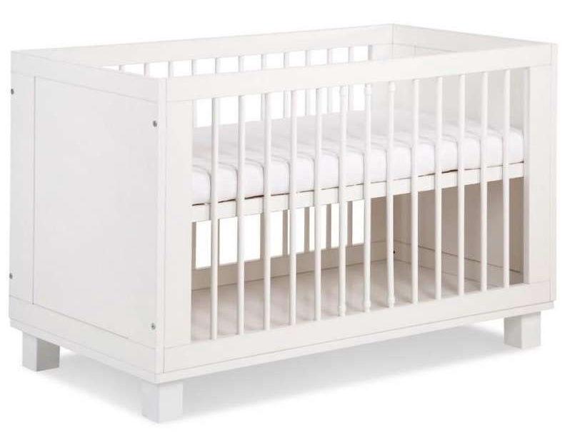 Vaikiška lova Klups Blanka White, 124x65 cm