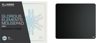 Коврик для мыши Glorious PC Gaming Race Element Ice, 460 мм x 410 мм x 4 мм, черный