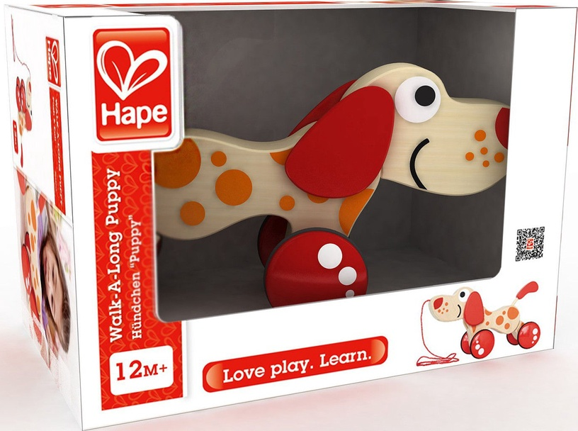 Hape Walk A Long Puppy E0347