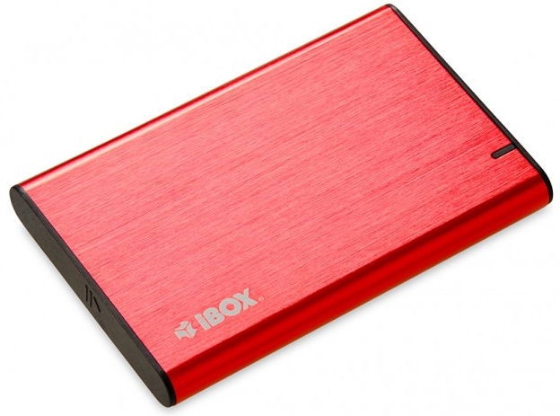 iBOX HD-05 Enclosure For HDD 2.5inch Red