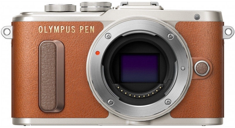 Olympus PEN E-PL8 Body Brown