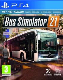 Игра для PlayStation 4 (PS4) Astragon Entertainment Bus Simulator 21 Day One Edition