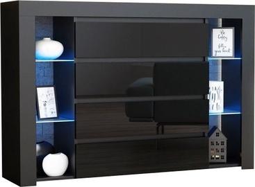 Комод Pro Meble Milano 4SZ Black