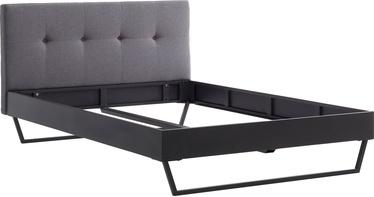 Кровать Meise Möbel Boston 2, серый, 213x166 см
