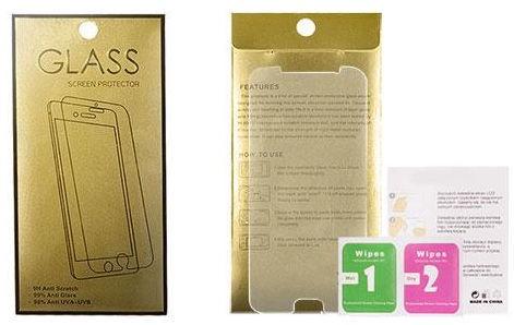 Защитное стекло Gold, 9h