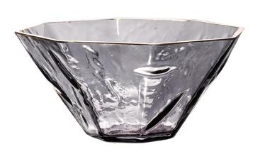 Home4you Luxo Vase D26x12cm w/ Golden Edge