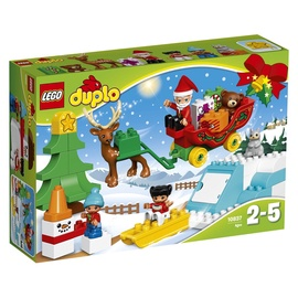 Konstruktorius LEGO Duplo, Kalėdų Senelio žiemos šventė 10837