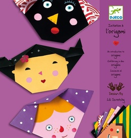 Djeco Origami Faces An Introduction To Origami