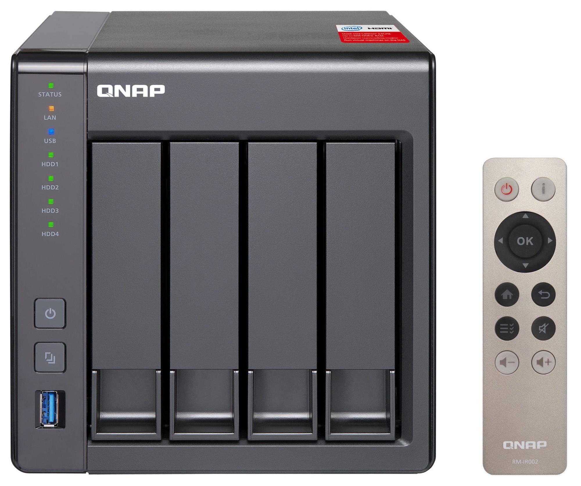 QNAP Systems TS-451+-8G 4-Bay NAS