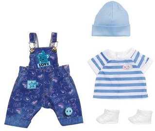 Zapf Creation Baby Born Deluxe Jeans Dungaree Set 829127