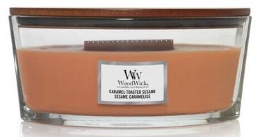 Aromātiskā svece WoodWick Caramel Toasted Sesame, 454 g