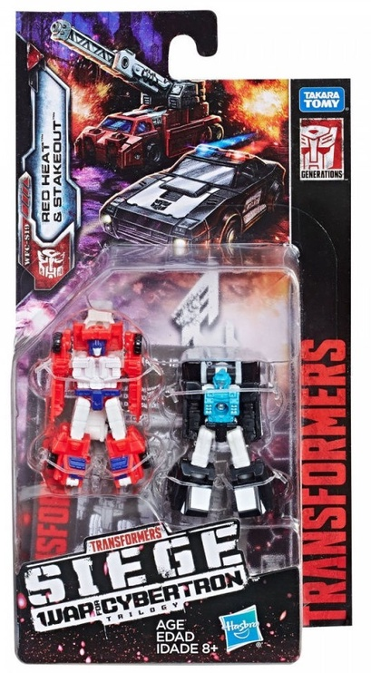 Hasbro Transformers Generations War For Cybertron Micromasters Rescue Patrol