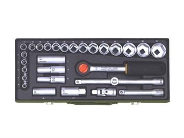 """Sukimo įrankių rinkinys Proxxon 23000 8-34 mm, 1/2"""", 29 vnt."""