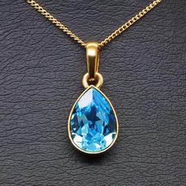 Diamond Sky Pendant Crystal Drop With Swarovski Crystals