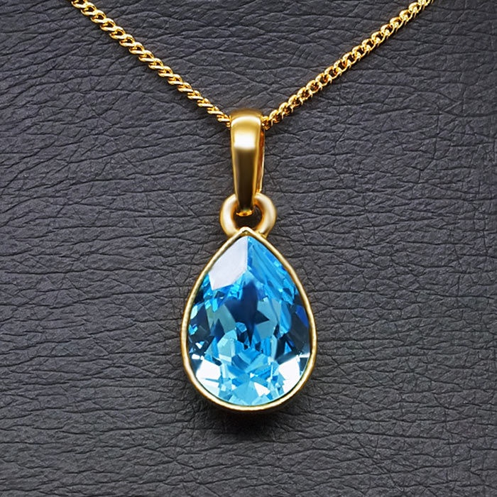 Diamond Sky Pendant Crystal Drop With Swarovski Crystals