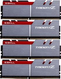G.SKILL Trident Z Silver/Red 64GB 3600MHz CL17 DDR4 KIT OF 4 F4-3600C17Q-64GTZ