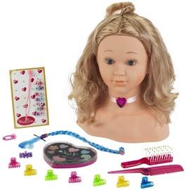 Žaislinis kosmetikos rinkinys Klein Princess Coralie Make-Up & Hairstyling Head 5240