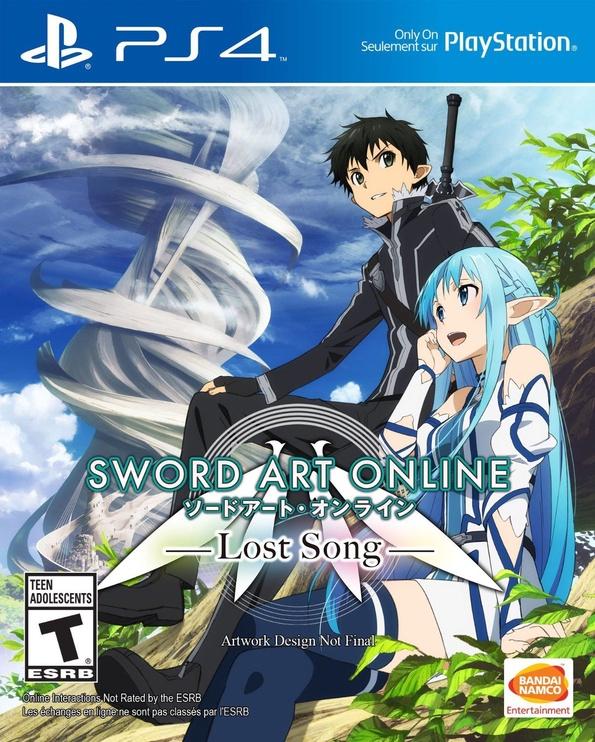 Sword Art Online: Lost Song PS4