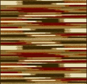 Ковер Oriental Weavers Vancouver 2541_AY3 S, коричневый/многоцветный, 150x100 см