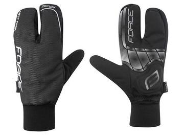 Перчатки Force Hot Rak Winter Gloves Black S