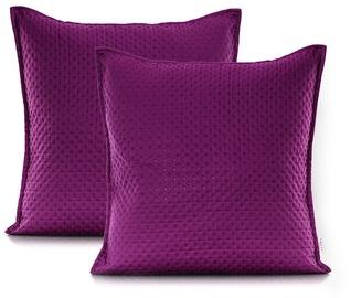 AmeliaHome Carmen Pillowcase Magenta Purple 45x45 2pcs