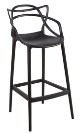 Home4you Butterfly Bar Stool Black
