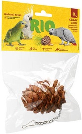 Mealberry Rio Cedar Cone Treat-Toy For Birds 1pcs