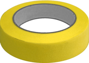 Blue Dolphin High Crepe Decorating Tape 25mm x 50m Yellow