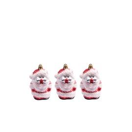 Eglutės žaisliukas Christmas Touch N3/L603203BS Red, 3 vnt.