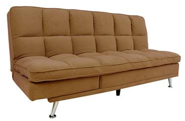 Dīvāngulta Home4you Monza 3-Seater, brūna, 189 x 95 x 98 cm