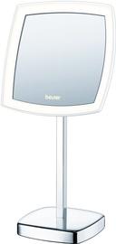 Kosmetinis veidrodis Beurer BS 99 Chrome, su apšvietimu, pastatomas, 20x38.7 cm