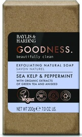 Baylis & Harding Goodness Soap 200g Sea Kelp/Peppermint