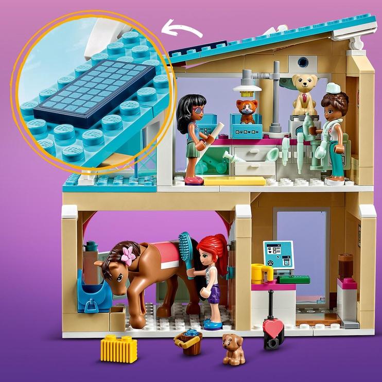 Конструктор LEGO Friends Ветеринарная клиника Хартлейк-Сити 41446