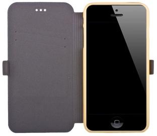Telone Super Slim Shine Book Case Huawei Mate 8 Gold