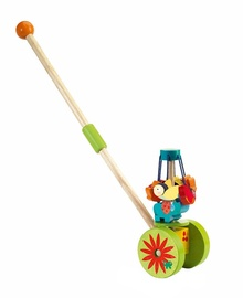Djeco Push Along Toys Rouli Cuicui