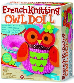 4M French Knitting Owl Doll 02764
