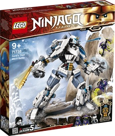 Konstruktorius lego Ninjago Zane's Titan kova 71738