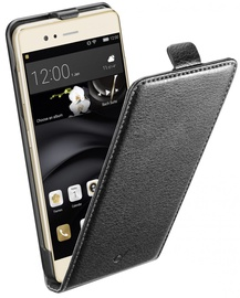 Cellular Line Flap Essential Book Case For Huawei P9 Lite Black