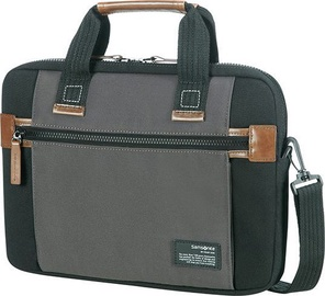 "Samsonite Sideways Laptop Bag 15.6"" Grey/Green"