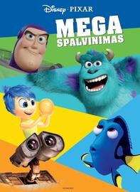 Knyga Pixar mega spalvinimas