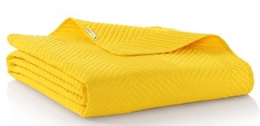 Gultas pārklājs DecoKing Messli, dzeltena, 220x200 cm