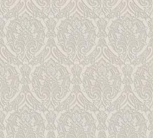Flizelino pagrindo tapetas As Creation 370024 Lagom, smėlinis klasikinis raštas