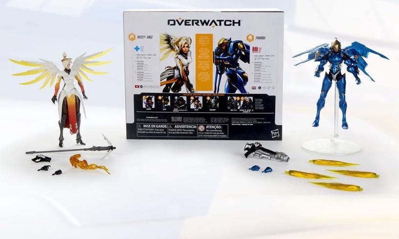 Žaislinė figūrėlė Hasbro Overwatch: Ultimates 2-Pack Mercy And Pharah Action