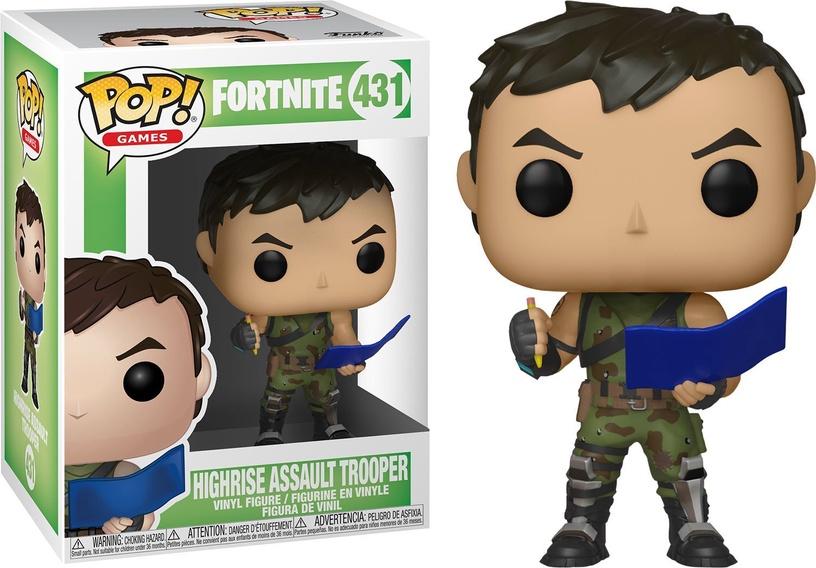 Фигурка-игрушка Funko Pop! Games Fortnite Highrise Assault Trooper 431